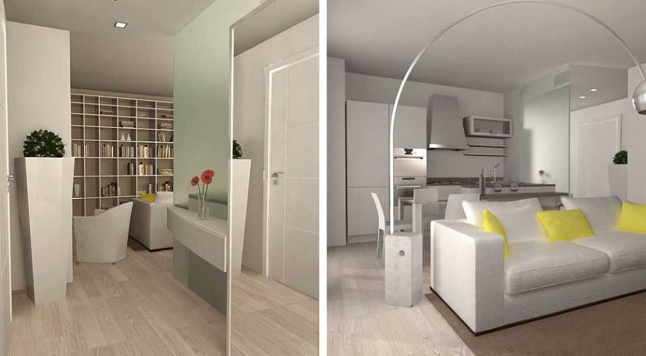 Idee per arredare casa: 50 mq. architetto on line come arredare