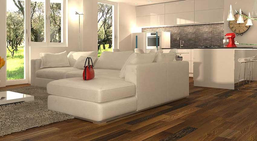 Arredare un soggiorno con cucina a vista - Architetto On line | Come ...